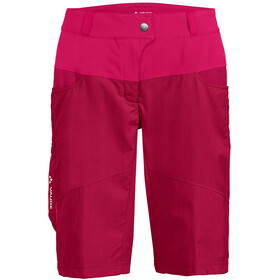 VAUDE Qimsa Shorts Dames, crimson red